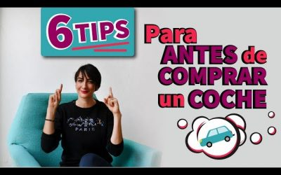 6 Tips Financiera para Comprar un Coche